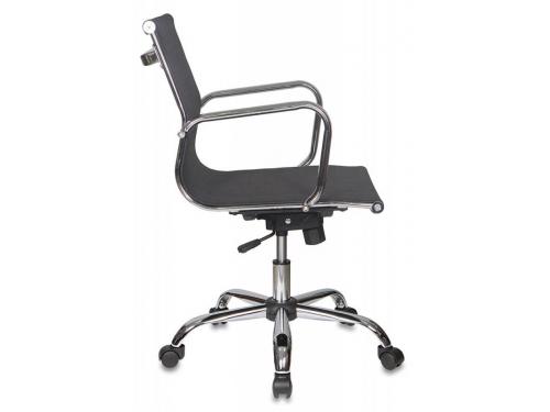 Компьютерное кресло Бюрократ CH-993-LOW/M01, низкая спинка, черное, вид 3