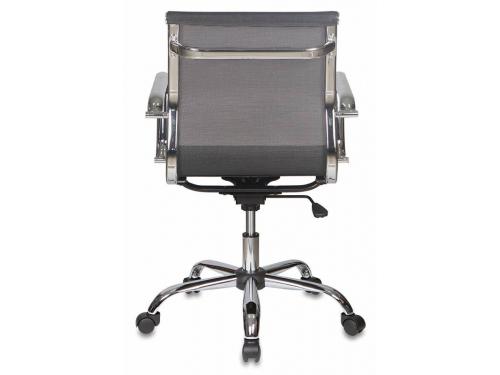Компьютерное кресло Бюрократ CH-993-LOW/M01, низкая спинка, черное, вид 4
