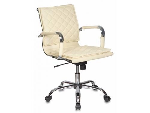 Компьютерное кресло Бюрократ CH-991-Low/Ivory, слоновой кости, вид 1