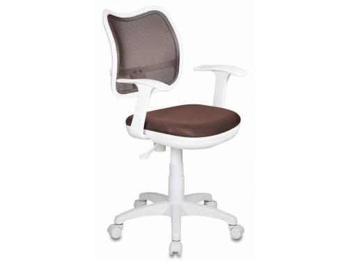 Компьютерное кресло Бюрократ CH-W797/BR/TW-14C, коричневое, вид 1
