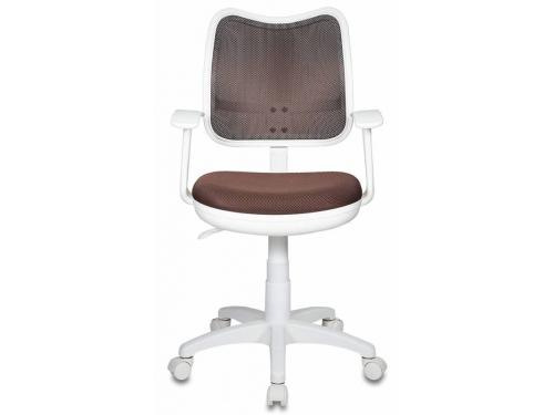 Компьютерное кресло Бюрократ CH-W797/BR/TW-14C, коричневое, вид 7