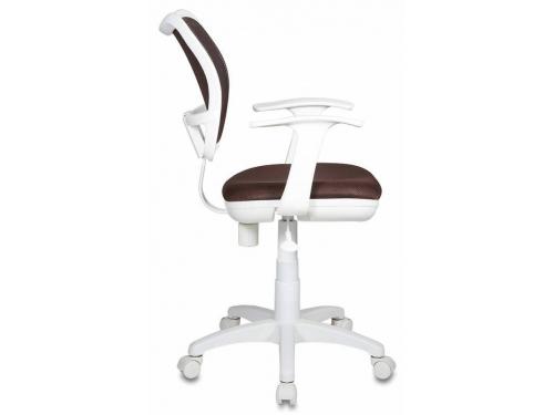 Компьютерное кресло Бюрократ CH-W797/BR/TW-14C, коричневое, вид 5