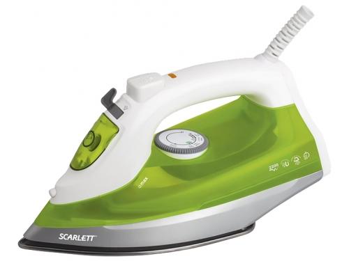 Утюг Scarlett SC-SI30S04, белый/зеленый, вид 1