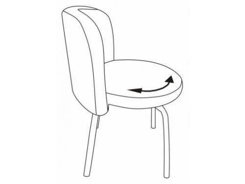 Компьютерное кресло Бюрократ KF-2/OR-03, синее, вид 6