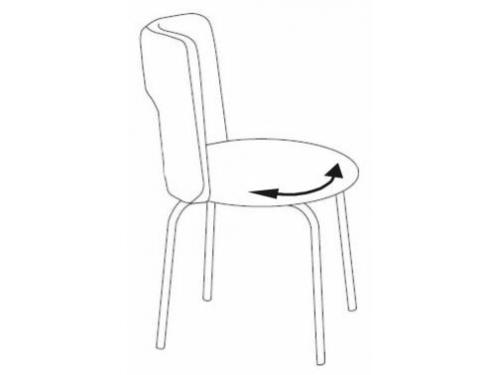 Компьютерное кресло Бюрократ KF-1/GREY26-25, серое, вид 6