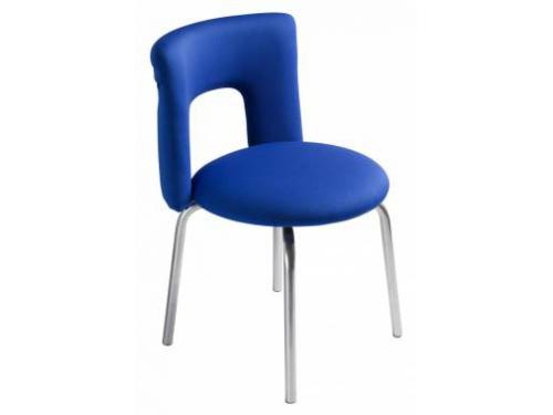 Компьютерное кресло Бюрократ KF-1/INDIGO26-21, синее, вид 1