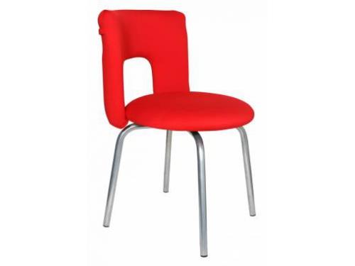 Компьютерное кресло Бюрократ KF-1/RED26-22, красное, вид 1