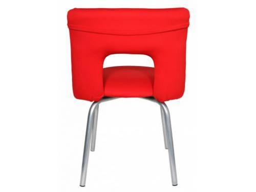 Компьютерное кресло Бюрократ KF-1/RED26-22, красное, вид 4