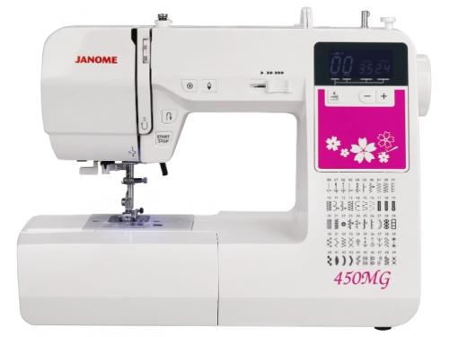 Швейная машина Janome 450MG, белая, вид 1