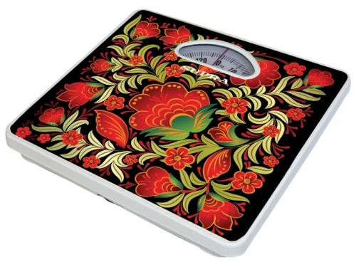 Напольные весы Supra BSS-4061 Kalinka, красный рисунок, вид 1