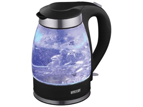 Чайник электрический Mystery MEK-1627, черный, вид 1