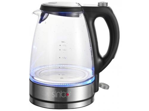 Чайник электрический Sinbo SK-2393, черный, вид 1