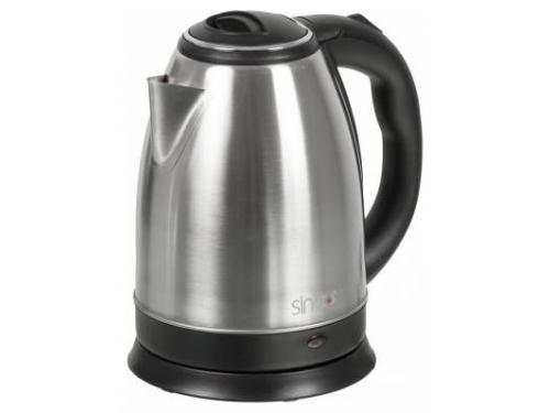 Чайник электрический Sinbo SK-7334, серебристый, вид 1