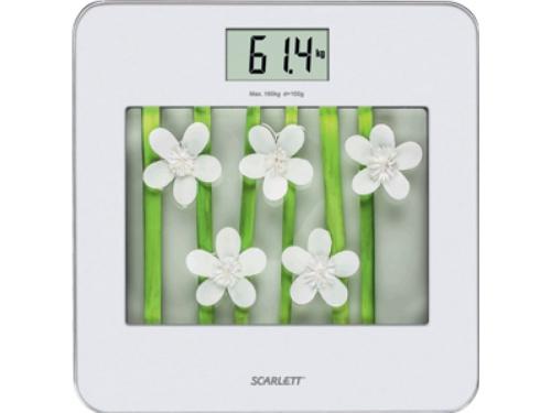��������� ���� Scarlett SC-BS33E002 SR/WH flowers, �����/�������, ��� 1