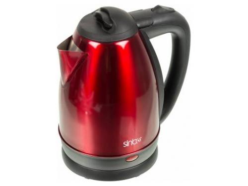 Чайник электрический Sinbo SK-7337, красный/черный, вид 1