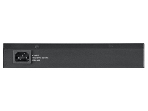 Коммутатор (switch) ZyXEL GS2210-8 (управляемый), вид 3
