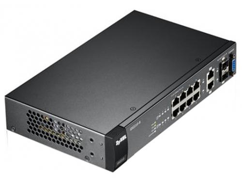 Коммутатор (switch) ZyXEL GS2210-8 (управляемый), вид 4