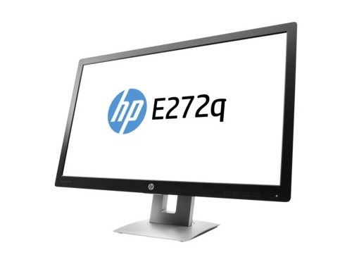 Монитор HP EliteDisplay E272q, черный, вид 1