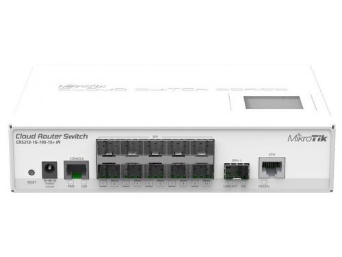 Роутер WiFi MikroTik CRS212-1G-10S-1S+IN, вид 1