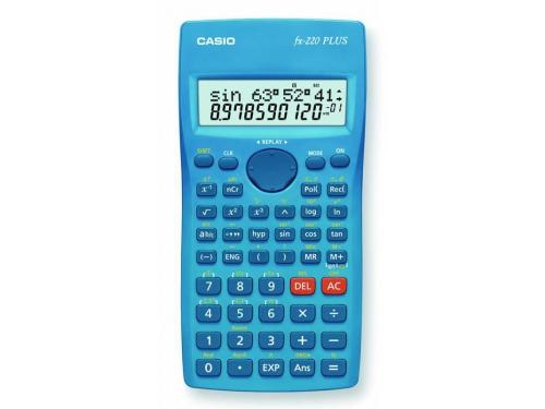 Калькулятор Casio FX-220PLUS 10+2-разрядный, Синий, вид 1