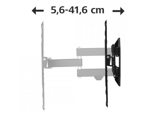 Кронштейн Hama(H-118103)черный, вид 4