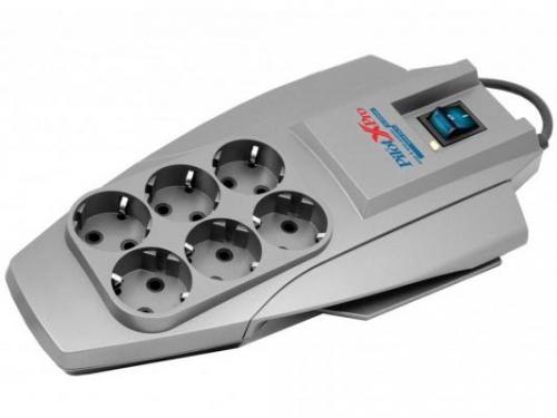 Сетевой фильтр Pilot X - Pro, серый, вид 1