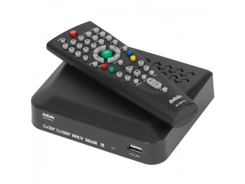 Ресивер BBK SMP018HDT2, темно-серый, вид 1