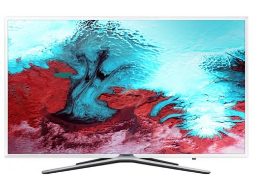 телевизор Samsung UE49K5510AUXRU (49'', Full HD), белый, вид 1