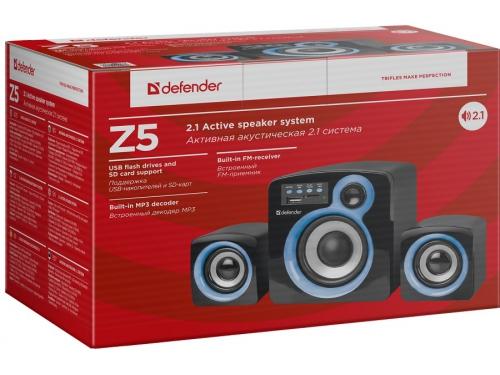 Компьютерная акустика Defender Z5, черная, вид 2