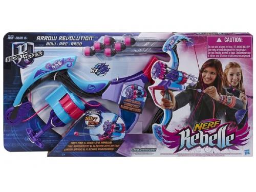 Товар для детей Hasbro Nerf N - Rebelle Стрела Блочный Лук, разноцветный, вид 3
