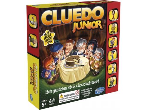 Настольная игра Hasbro games Моя первая игра - Клуэдо, с аксессуарами, вид 2