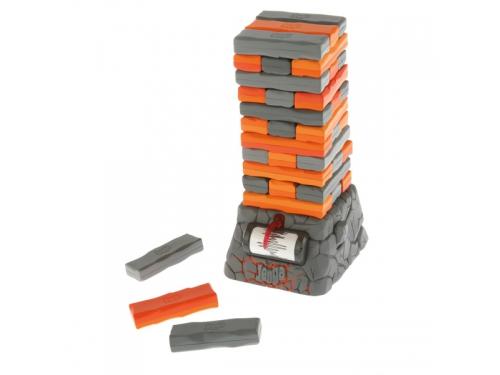 Настольная игра Hasbro Games Дженга Квейк, оранжевый / серый, вид 1