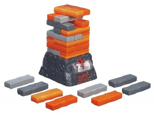 Настольная игра Hasbro Games Дженга Квейк, оранжевый / серый, вид 2