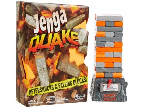 Настольная игра Hasbro Games Дженга Квейк, оранжевый / серый, вид 3