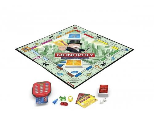 Товар для детей Настольная игра Hasbro Games Монополия с банковскими карточками (обновленная), вид 1