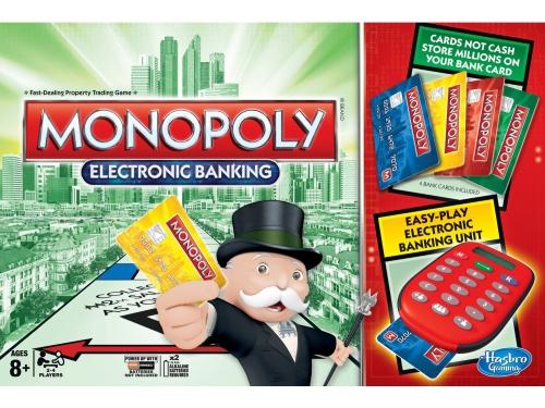 Товар для детей Настольная игра Hasbro Games Монополия с банковскими карточками (обновленная), вид 2