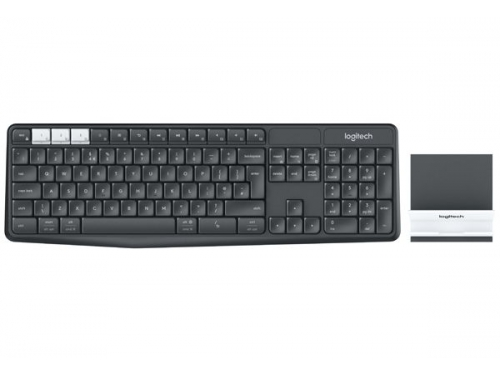 Клавиатура Logitech K375s ( 920-008184) темно-серая, вид 1