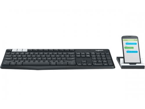 Клавиатура Logitech K375s ( 920-008184) темно-серая, вид 2