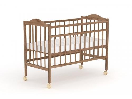 Детская кроватка Фея 203 табачный дуб, вид 1