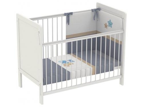 Детская кроватка Polini kids Simple 220, белая, вид 1