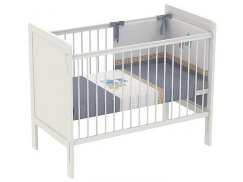 Детская кроватка Polini kids Simple 220, белая, вид 2