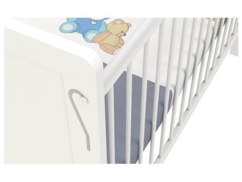 Детская кроватка Polini kids Simple 220, белая, вид 4
