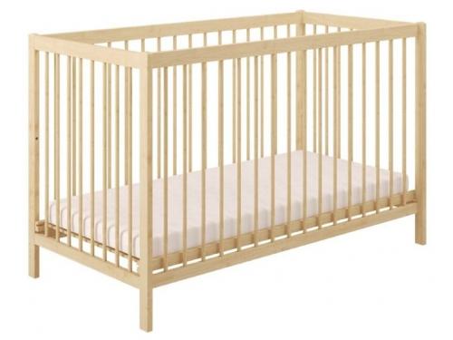 Детская кроватка Polini kids Simple 101, натуральный, вид 1