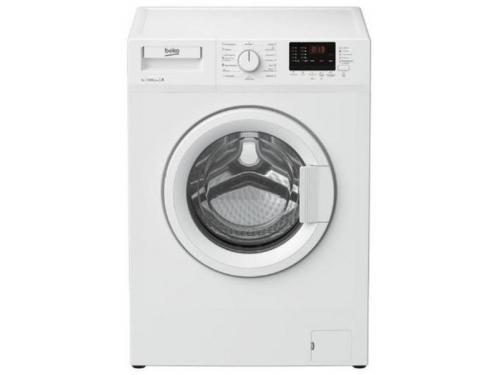 Машина стиральная Beko WRE 65P2 BSW, белая, вид 1