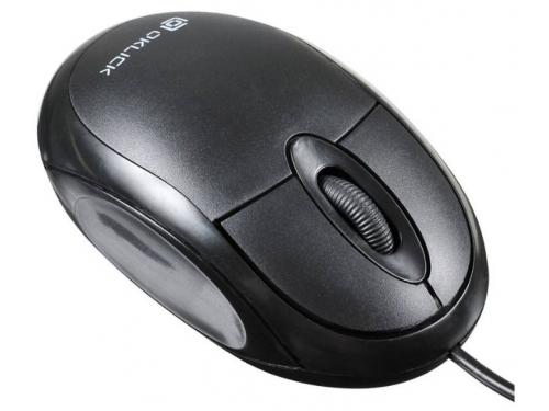 Мышь Oklick 105S, USB, чёрная, вид 3