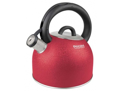 Чайник для плиты Rondel RDS-845 Infinity in Red (R) 2,7 л, красный, вид 1