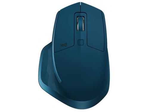 Мышь Logitech MX Master 2S, бирюзовая, вид 2