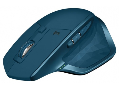 Мышь Logitech MX Master 2S, бирюзовая, вид 4