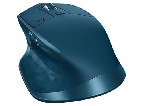 Мышь Logitech MX Master 2S, бирюзовая, вид 5