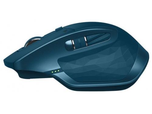 Мышь Logitech MX Master 2S, бирюзовая, вид 6